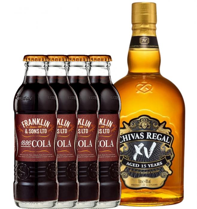 Pachet Chivas Regal XV 15 Ani 0.7L & Franklin&Sons Cola 4X0.2L [0]