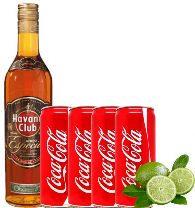Pachet Cuba Libre Havana Club Especial 0.7L [0]