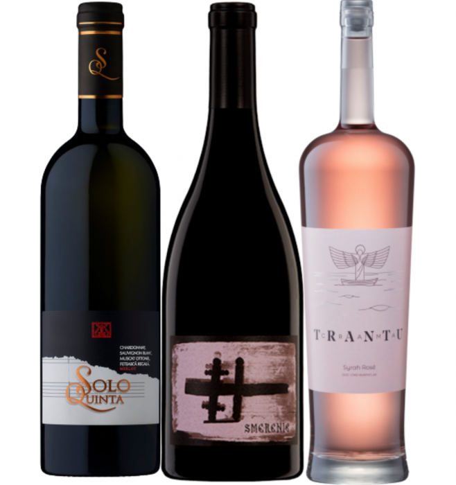 Pachet Vin Solo Quinta 0.75L & Smerenie 0.75L & Trantu Syrah Rose 0.75L [0]