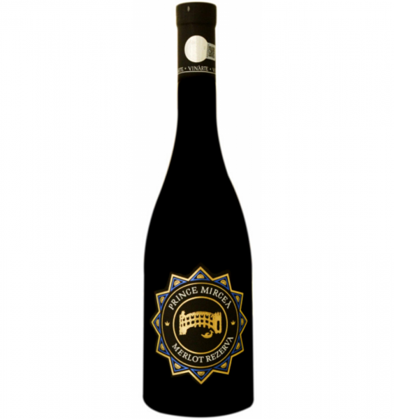 PRINCE MIRCEA VIN MERLOT 750 ml [0]