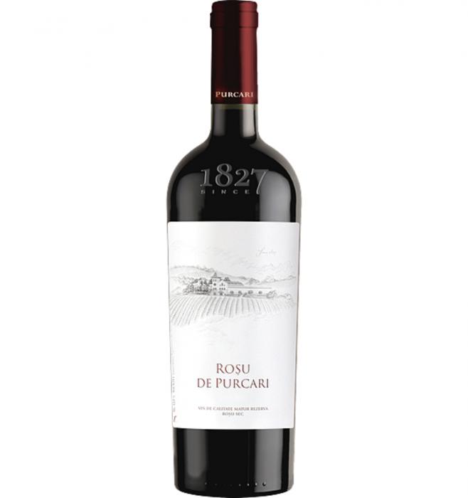 Rosu de Purcari  Cabernet & Sauvignon & Merlot & Malbec Sec 0.75L 13.5% alc./vol. [0]