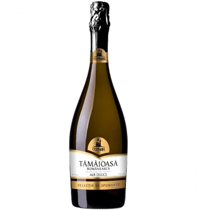 Selectie Spumant CH Tamaioasa Romaneasca Alb Dulce 0.75L [0]
