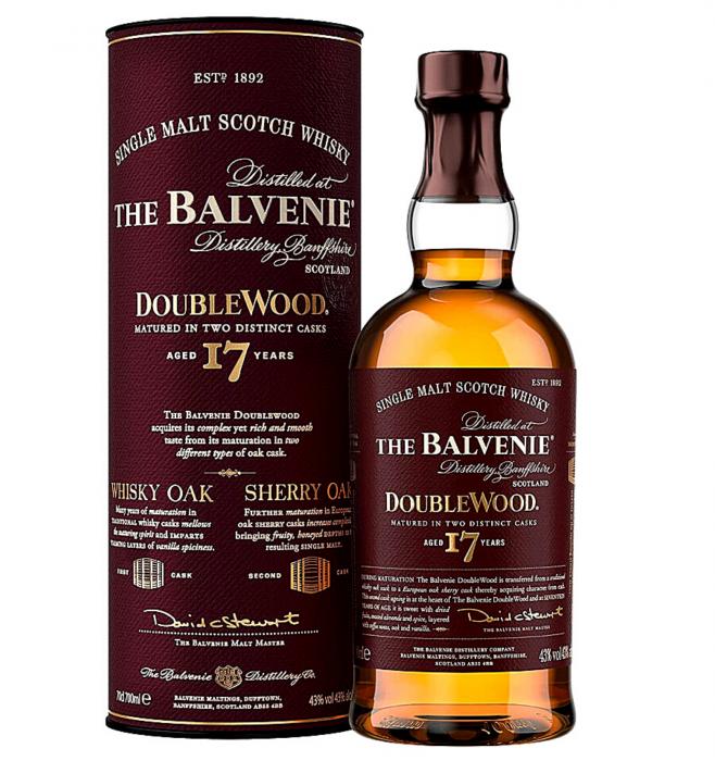 Balvenie 17 Ani DooubleWood 43% alc./vol 0.7L [0]