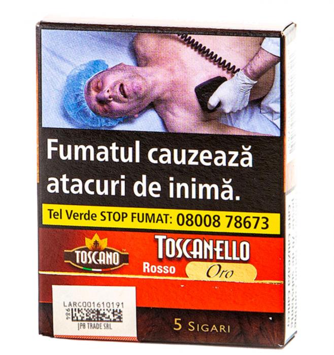 Toscanello Roso Oro Capuccino 5 buc. [0]