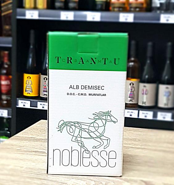 Crama Trantu Noblesse Alb Demisec 2L [0]