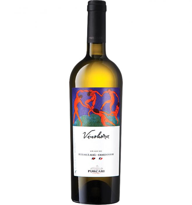 Vinohora Feteasca Alba & Chardonnay Alb Sec 0.75L 13% alc./vol. [0]
