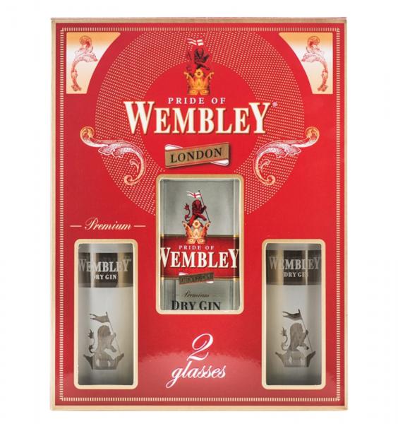Wembley 0.7L 40% alc./vol. + 2 Pahare [0]