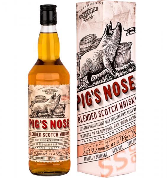 Whisky Pigs Nose 0.7L 40% alc./vol. [0]