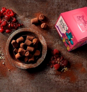 Trufe Ciocolata Monty Berry Bubbly 150g [1]