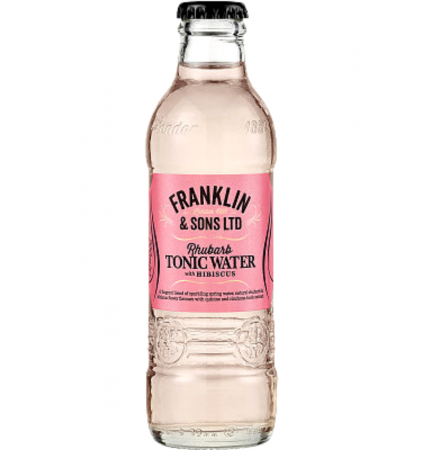 Franklin&Sons Rhubarb&Hibiscus Tonic Water 0.2L