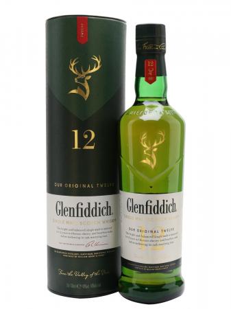 Glenfiddich 12 Ani 0.7L 40% alc./vol.