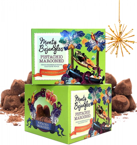 Trufe Ciocolata Monty Pistachio Marooned 150g [0]