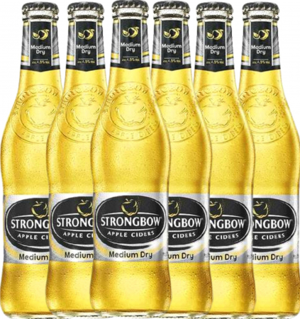 Pachet Strongbow Apple Cider 0.33L Alc.4.5% - 6 sticle [0]
