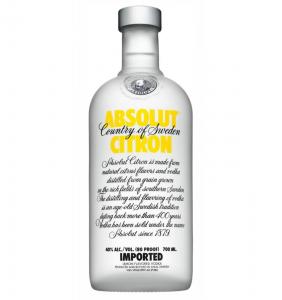 Vodka Absolut Citron 0.7L 40% alc./vol.