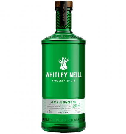 Whitley Neill Aloe&Cucumber 0.7L 43% alc./vol.