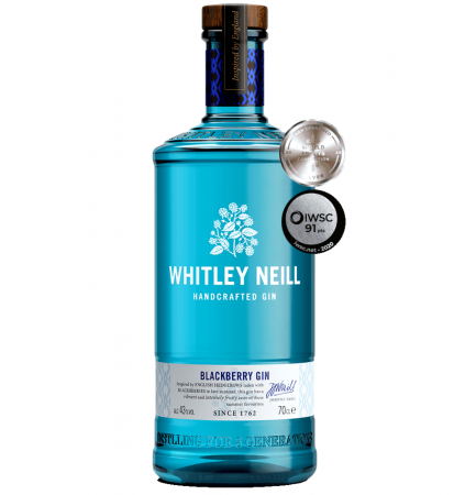 Whitley Neill Blackberry 0.7L 43% alc./vol.