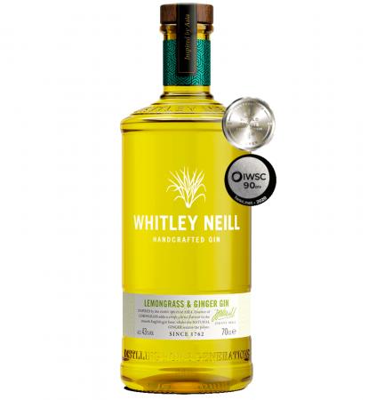 Whitley Neill Lemongrass&Ginger 0.7L