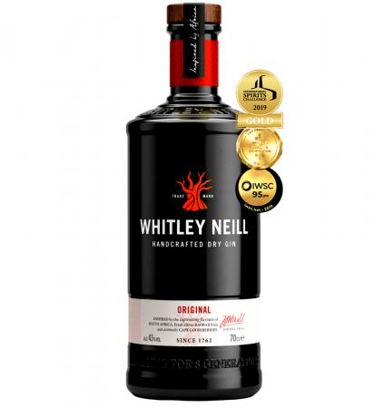 Whitley Neill Original 0.7L 43% alc./vol.
