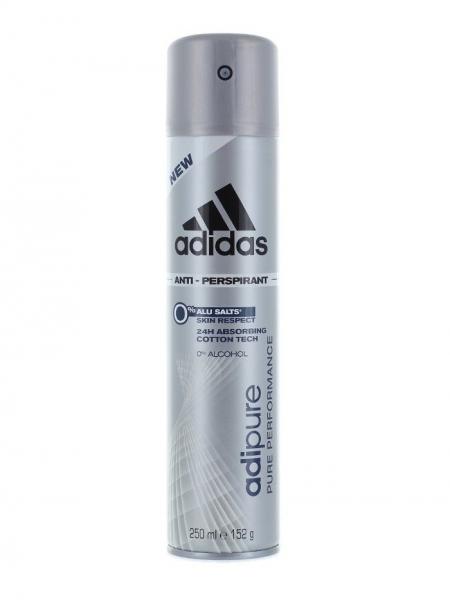 Adidas Deodorant spray, Barbati, 250 ml, Adipure [0]