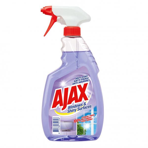 Ajax Solutie curatat geamuri, 500 ml, Windows and Shiny Surfaces [0]