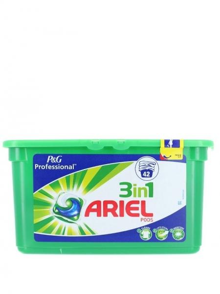 Ariel Detergent Capsule 3in1, 42 buc, Regular [0]