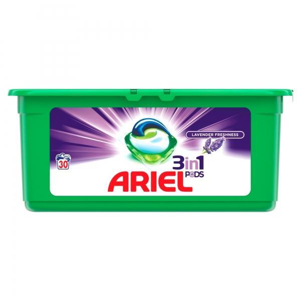 Ariel Detergent Capsule 3in1 PODS, 30 buc, Lavanda [0]