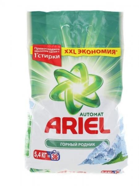 Ariel Detergent automat, 5.4 kg, 36 spalari, Mountain Spring [0]