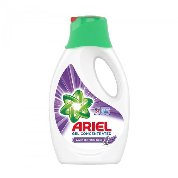Ariel Detergent lichid, 1.1L, 20 spalari, Lavanda [0]