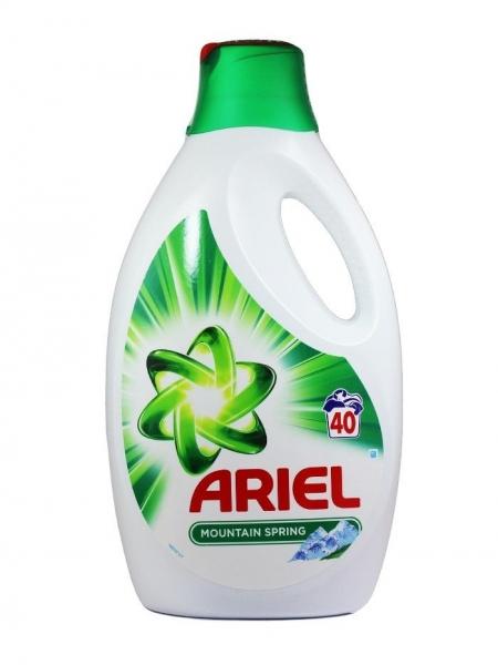 Ariel Detergent lichid, 2.6L, 40 spalari, Mountain Spring [0]
