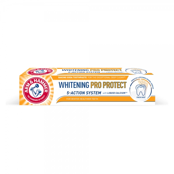 Arm and Hammer Pasta de dinti, Whitening Pro Protect, 75 ml [0]
