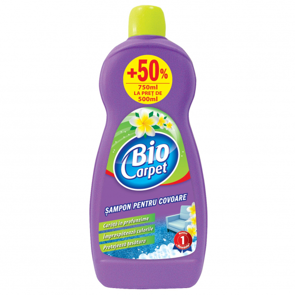 Biocarpet Sampon pentru covoare, 750 ml [0]