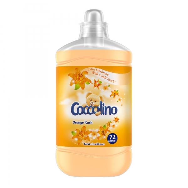 Coccolino Balsam de rufe, 1.8 L, 72 spalari, Orange Rush [0]