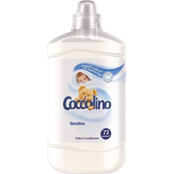 Coccolino Balsam de rufe, 1.8 L, 72 spalari, Sensitive [0]