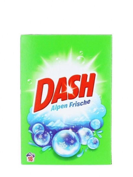 Dash Detergent automat, 1.170 kg, 18 spalari, Alpen Frische [0]