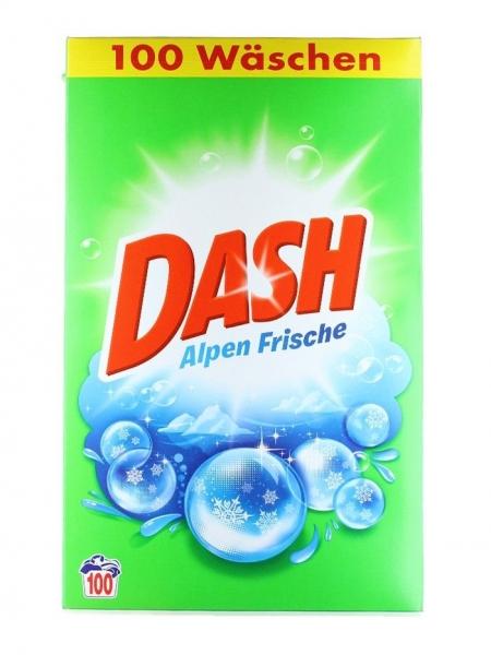 Dash Detergent automat, 6.5 kg, 100 spalari, Alpen Frische [0]