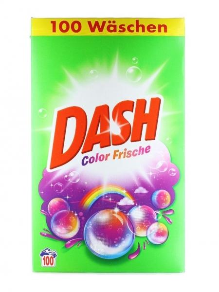 Dash Detergent automat, 6.5 kg, 100 spalari, Color Frische [0]