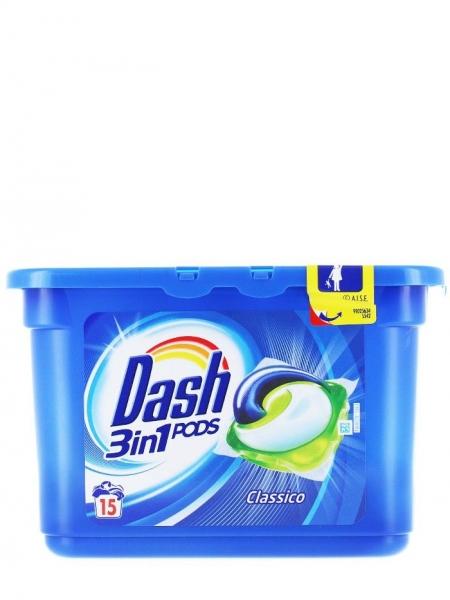 Dash Detergent capsule 3in1 PODS, 15 buc, Regular [0]