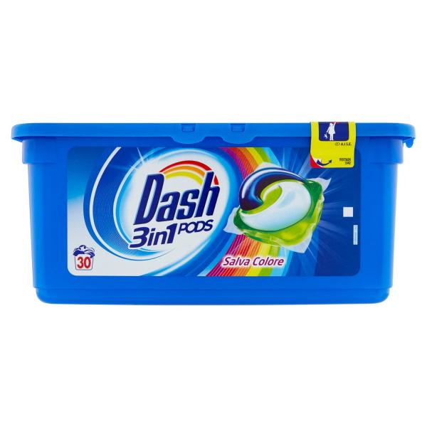 Dash Detergent capsule 3in1 PODS, 30 buc, Color [0]