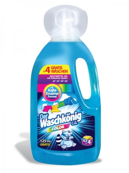 Der Waschkönig C.G. Detergent lichid, 1625 ml, 46 spalari, Color [0]