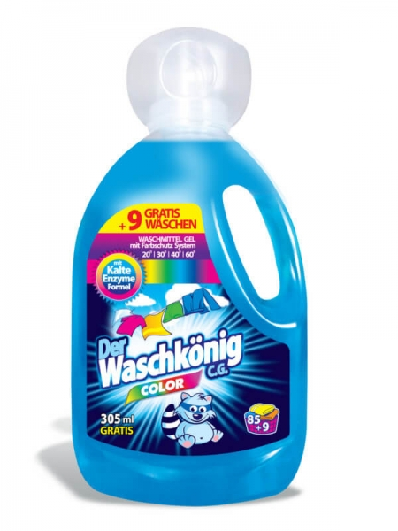 Der Waschkönig C.G. Detergent lichid, 3305 ml, 94 spalari, Color [0]