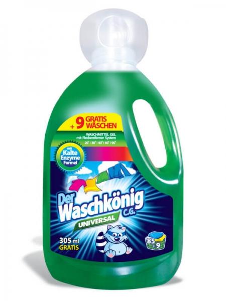 Der Waschkönig C.G. Detergent lichid, 3305 ml, 94 spalari, Universal [0]