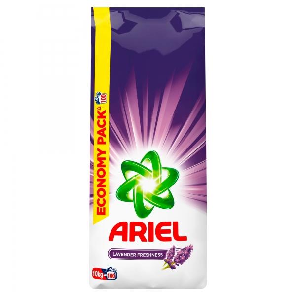 Ariel Detergent automat, 10 kg, 100 spalari, Lavanda [0]