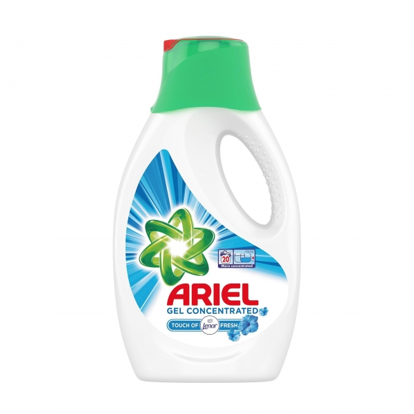 Ariel Detergent lichid, 1.1L, 20 spalari, Touch of Lenor Fresh [0]