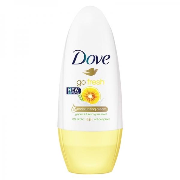 Dove Deodorant Roll-on, Femei, 50 ml, Grapefruit and Lemongrass [0]