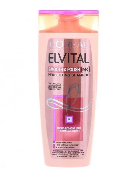 L'Oreal Elvital Sampon, 250 ml, Smooth & Polish [0]