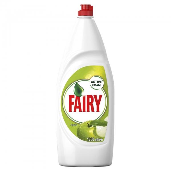 Fairy Detergent pentru vase, 1.2 L, Apple [0]