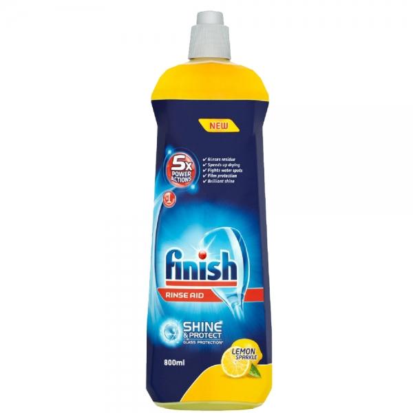 Finish Solutie de clatire pentru masina de spalat vase, 800 ml, Lemon Sparkle [0]