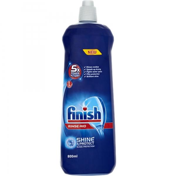 Finish Solutie de clatire pentru masina de spalat vase, 800 ml [0]