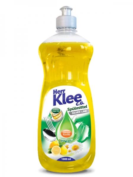 Herr Klee C.G. Detergent pentru vase, 1 L, Silver Line Lemon [0]
