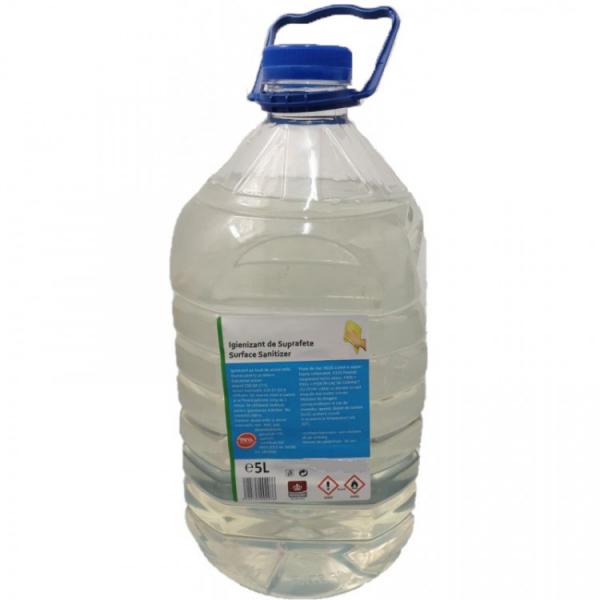 Igienizant pentru suprafete pe baza de Alcool Etilic, 75, 5 L [0]